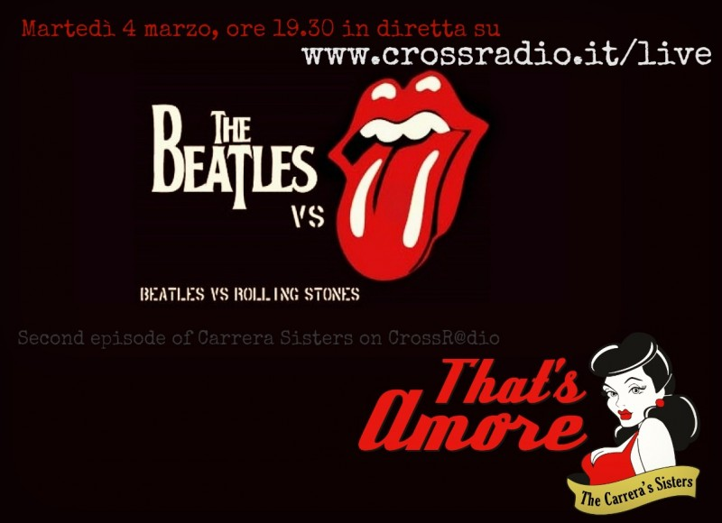 That's Amore Beatles vs Rolling Stones