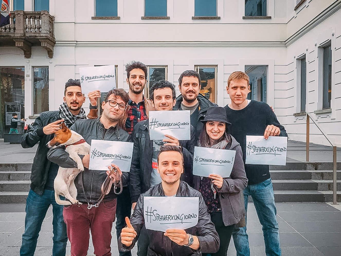 #SpeakerXungiorno