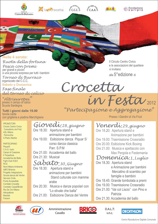 Volantino Crocetta in Festa 2012
