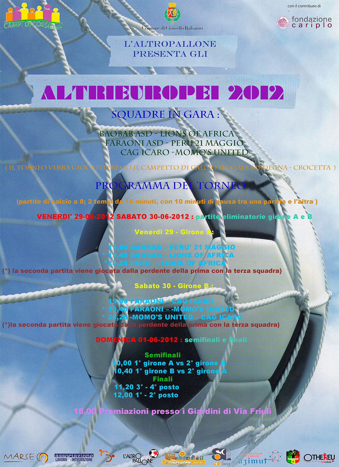 AltriEuropei 2012